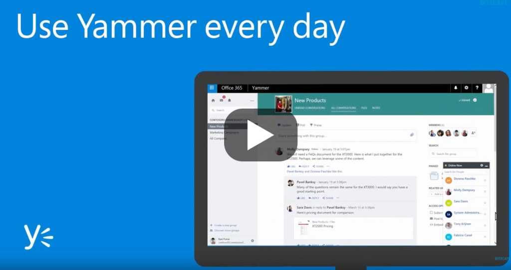 Groupe.io is a Yammer alternative for different business models